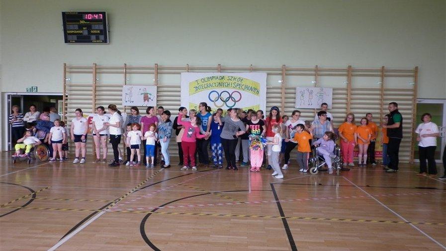 I Gminna Olimpiada Sportowa Szkół Integracyjnych i Specjalnych