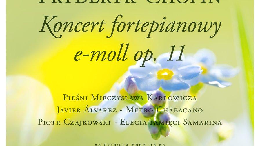 Już w najbliższą sobotę koncert fortepianowy na gorzuchowskiej plaży