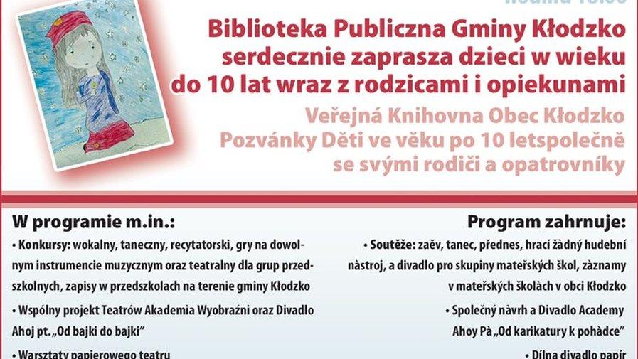 Zapraszamy na Polsko - Czeski Festiwal Książką Malowany