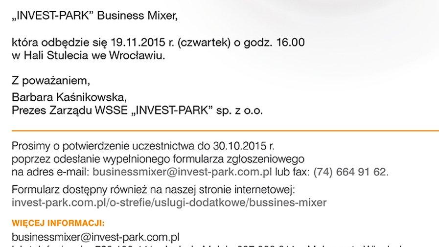 INVEST-PARK Business Mixer