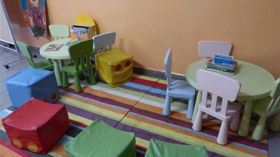 Kąciki wypoczynkowe w szkole w Krosnowicach