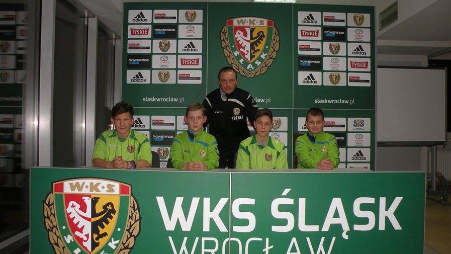 Na treningu w Śląsku Wrocław