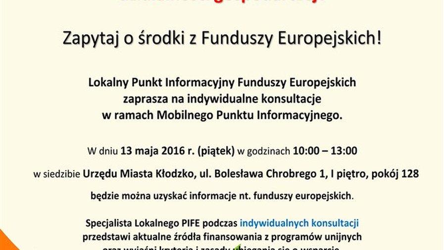 Fundusze europejskie na działalność gospodarczą
