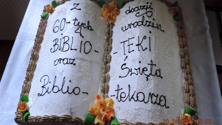 60 lat biblioteki w Wojciechowicach
