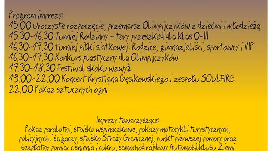 Spotkanie z olimpijczykami - Wojbórz