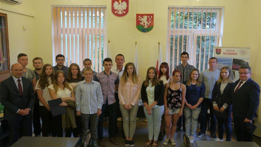 I Sesja Młodzieżowej Rady Gminy Kłodzko w kadencji 2016-2018