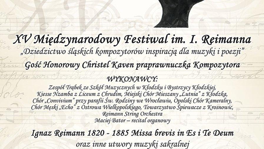 XV Miedzynarodowy Festiwal im. I. Reimanna