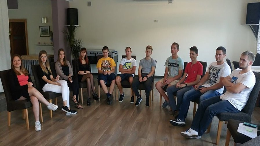 Młodzi radni na szkoleniu