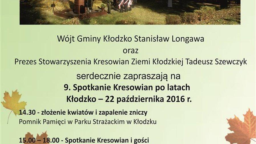 9. Spotknie Kresowian po latach