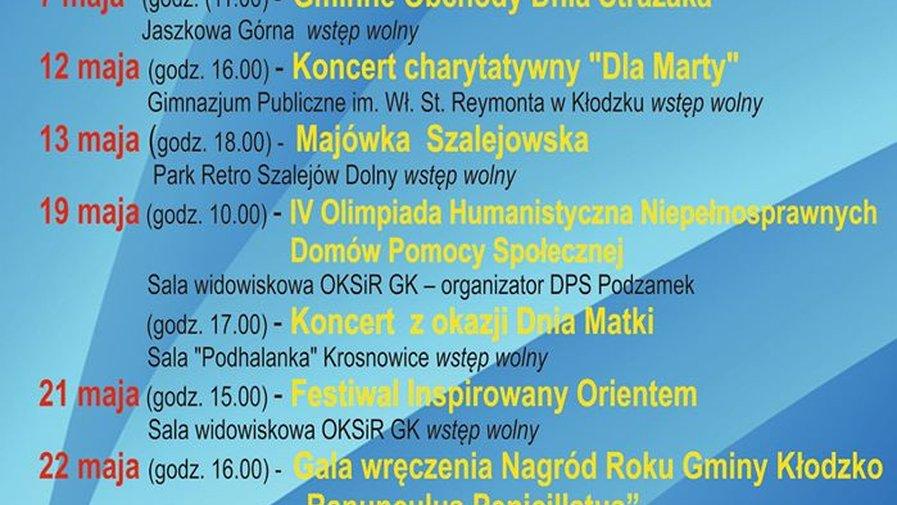 Maj z kulturą w gminie Kłodzko