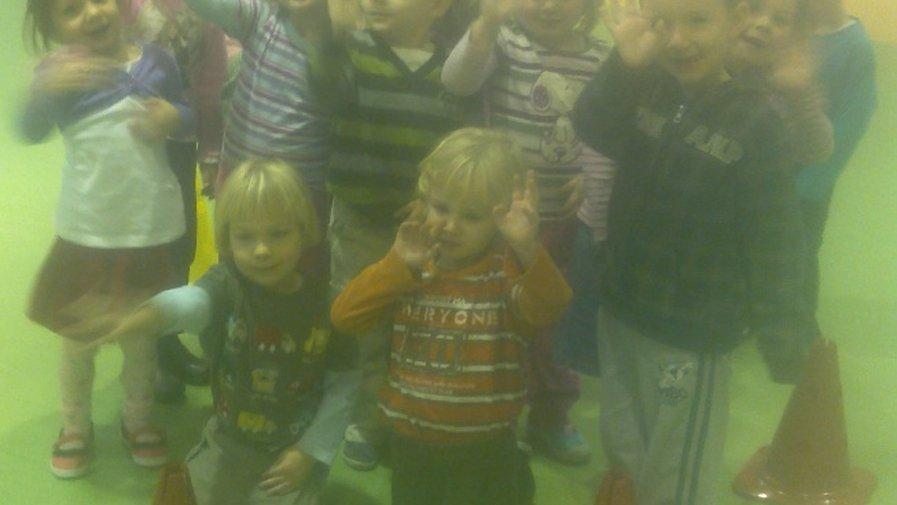 Zabawy ruchowe krosnowickich przedszkolaków