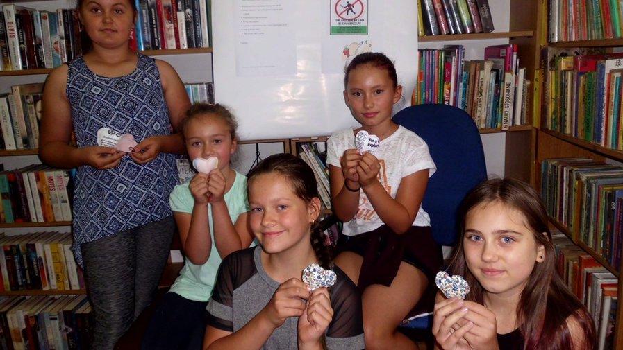 Tańcowała igła z nitką w bibliotece w Wojciechowicach