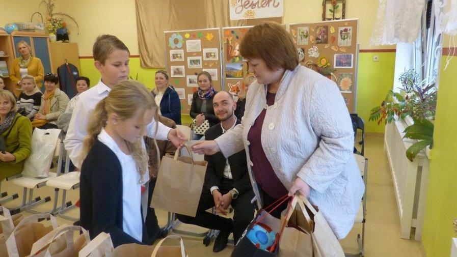 Goście z Białorusi w Szkole Podstawowej w Krosnowicach