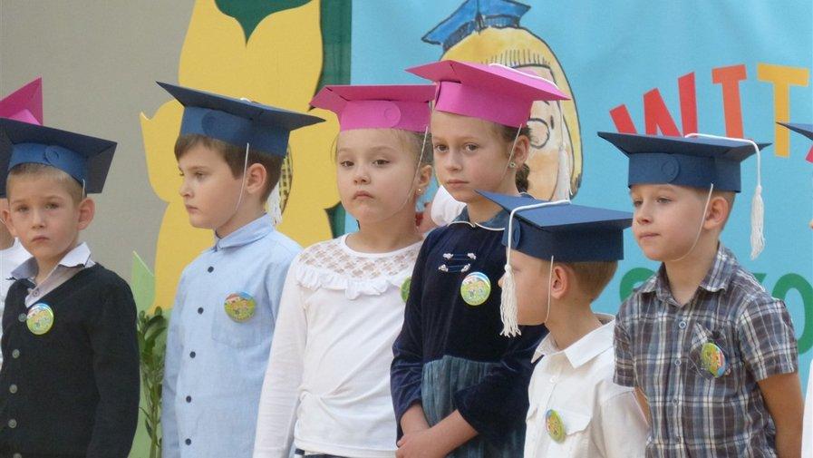 Nowi uczniowie w szeregach szkoły