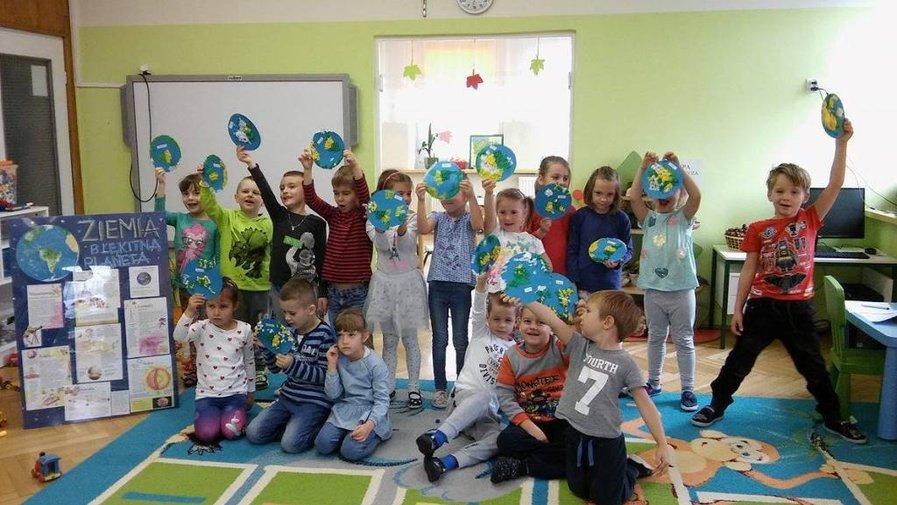 Przedszkolaki z Krosnowic w kosmosie