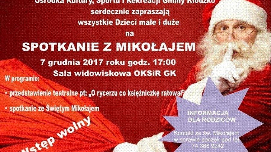 Na spotkanie z Mikołajem