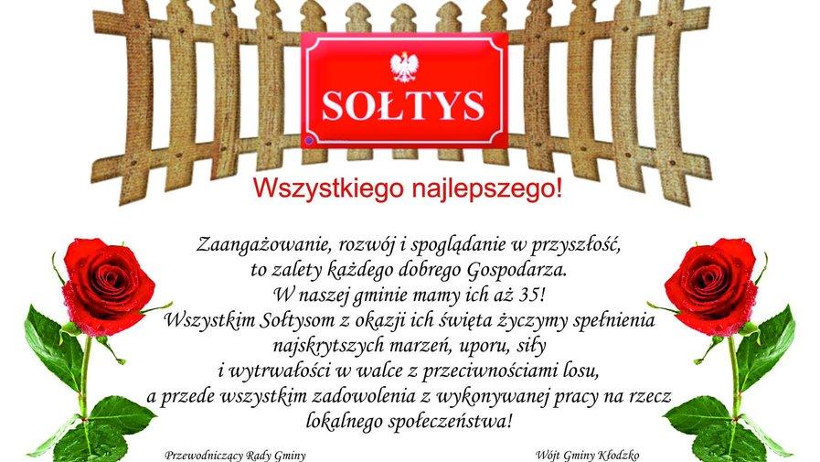 Dużo szczęścia dla wszystkich Sołtysów!