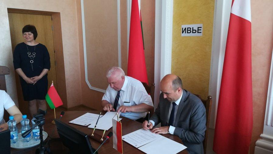 Delegacja gminy Kłodzko z wizytą na Białorusi