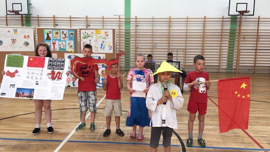 Dzień Dziecka w Szkole Podstawowej w Krosnowicach