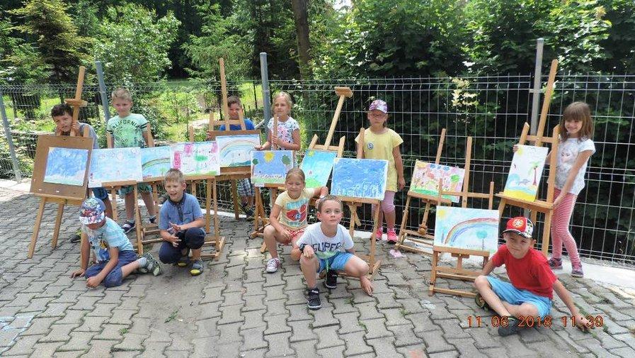 Plener malarski inspirowany twórczością Urszuli Kozłowskiej