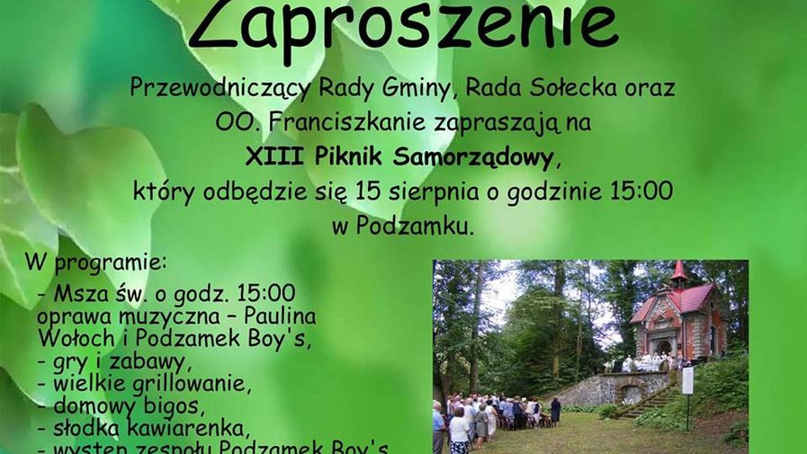 XIII Piknik Samorządowy