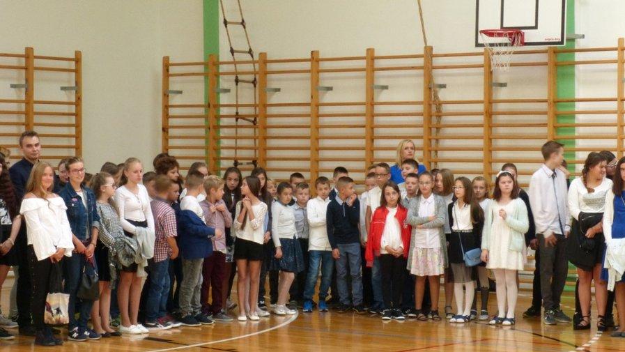 Uroczyste rozpoczęcie roku szkolnego 2018/2019 w Szkole Podstawowej w Krosnowicach