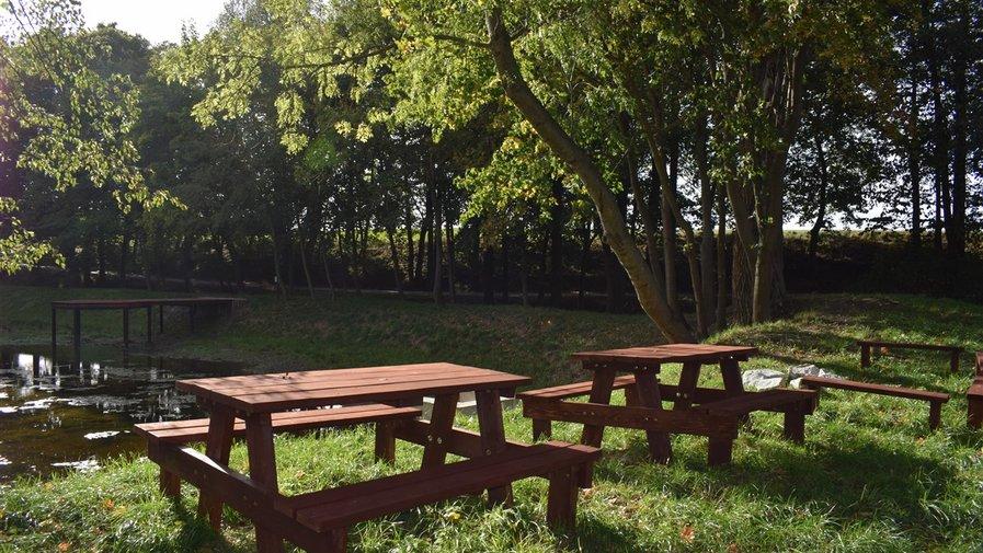 Miejsce rekreacji w Mikowicach
