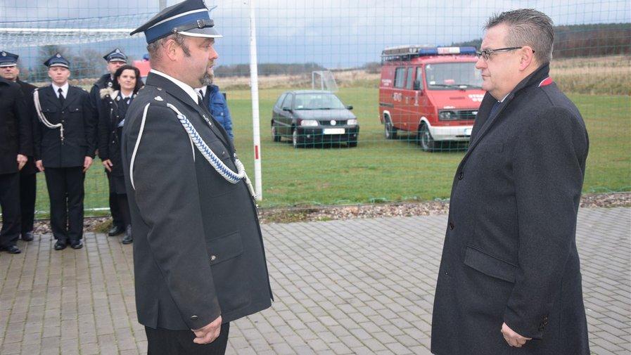 Wóz dla strażaków z Wielisławia