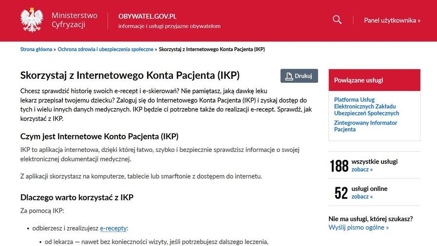 Internetowe Konto Pacjenta (IKP)