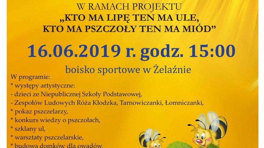 Piknik Miodowy w Żelaźnie