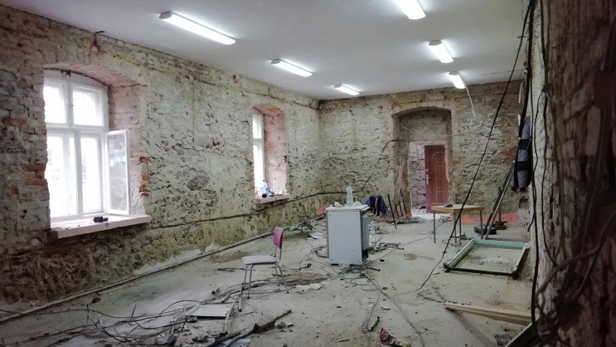Remont i przebudowa biblioteki w Wojborzu