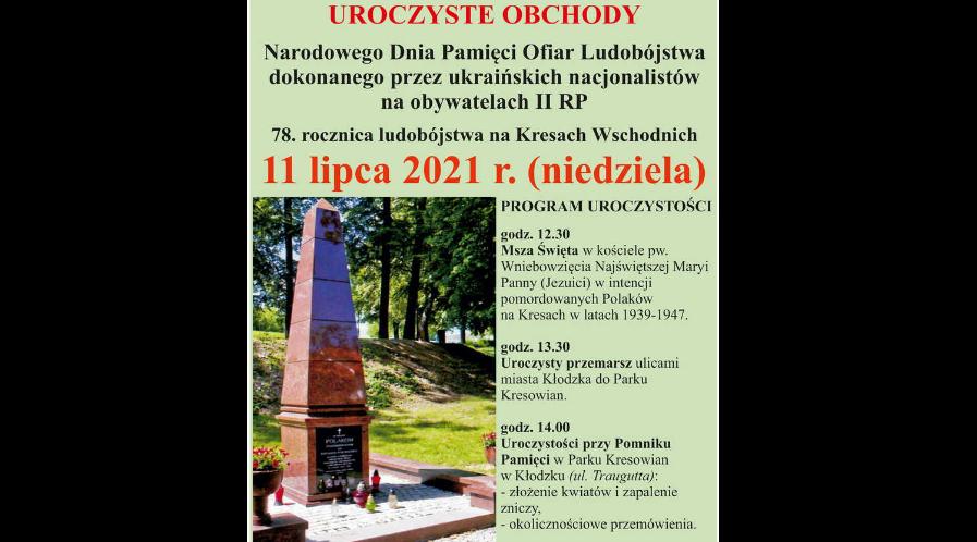 78. rocznica ludobójstwa na Kresach Wschodnich